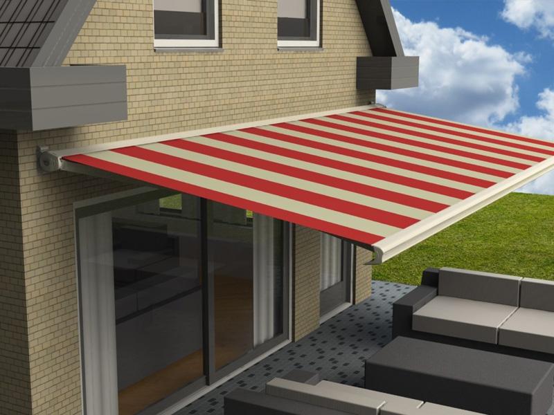 Waarom zijn knikarmschermen de meest populaire zonweringen voor in de tuin, op het terras of op het balkon?